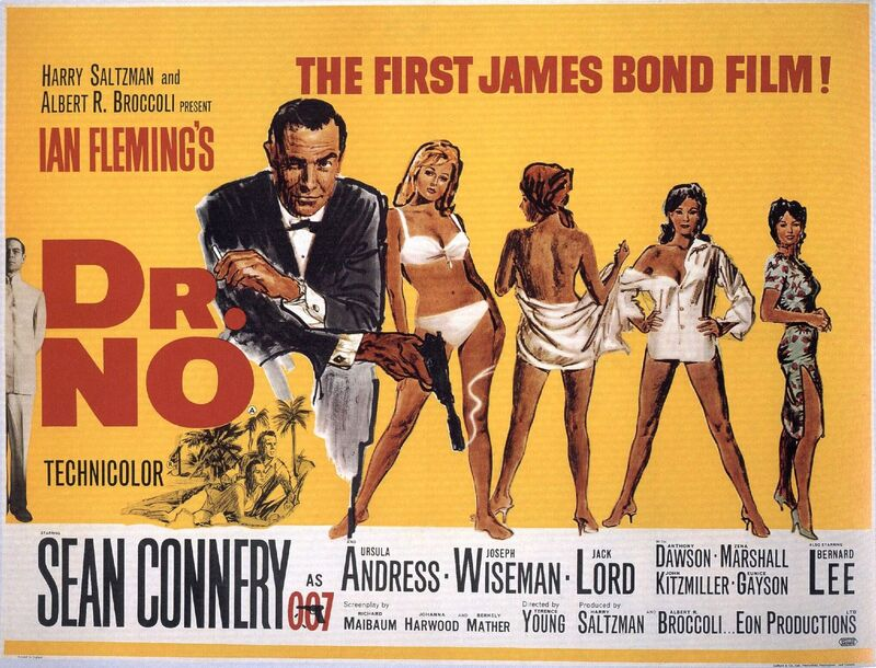 The Series of Films about James Bond. Chapter 1 - 1960s and Sean Connery