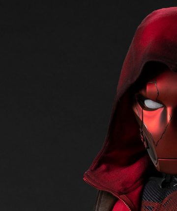 Curran Walters shares new look at TITANS Red Hood mask - Get Your Comic On